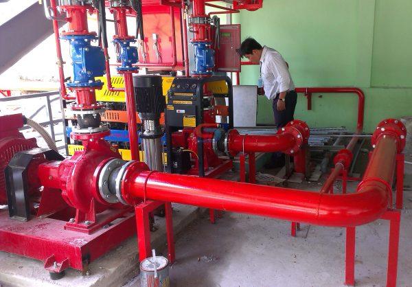 Quan tâm tới hệ thống và các phương tiện phòng cháy chữa cháy